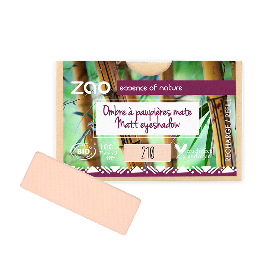 RECHARGE OMBRE A PAUPIERES RECTANGLE 210 ROSE PECHE